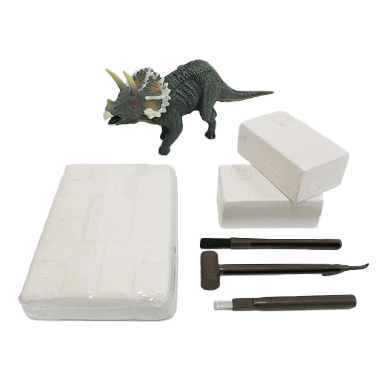 Juego De Excavación De Huesos De Dinosaurio Paleontología Triceratops Excavación Fósil Ciencia Educativa Juguete Buy Madre De Juguete Educativo Product On Alibaba Com