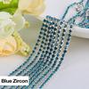 Silver Blue Zircon