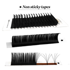 Extension Eyelash Eyelash Russian Extension Abonnie Private Label Lash Extension Tray Supplies 25mm Cashmere Mink Silk Individual Russian Mega Volume Eyelash Extension