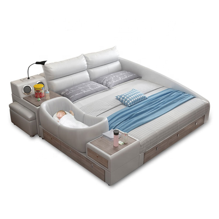 new arrival high quality japanese tatami wood bed baby bed multifunctional folding portable multifunctional tatami bed