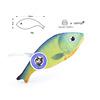 Cyan-Blue Fish