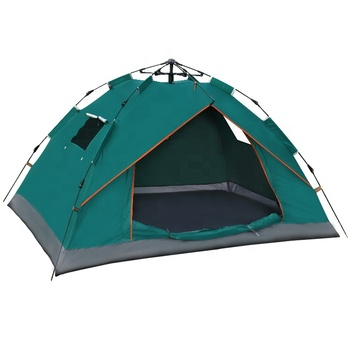 KingGear Outdoor Waterproof 1-2 person Hiking Military Beach Folding Automatic Popup Instant Camping Tent