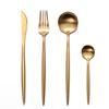 Gold Set(4pcs:knife,fork,spoon,teaspoon)