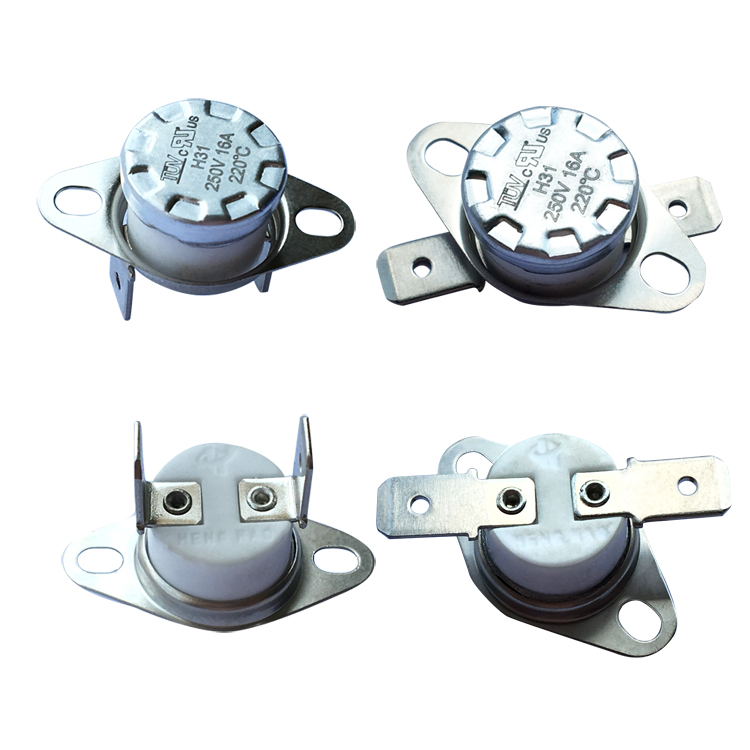 Bimetallic Thermostat Temperature Controller Thermal Cut-off Switch Ksd301 250V 10A 16A 0 to 250 Degree with TUV CQC UL ROHS