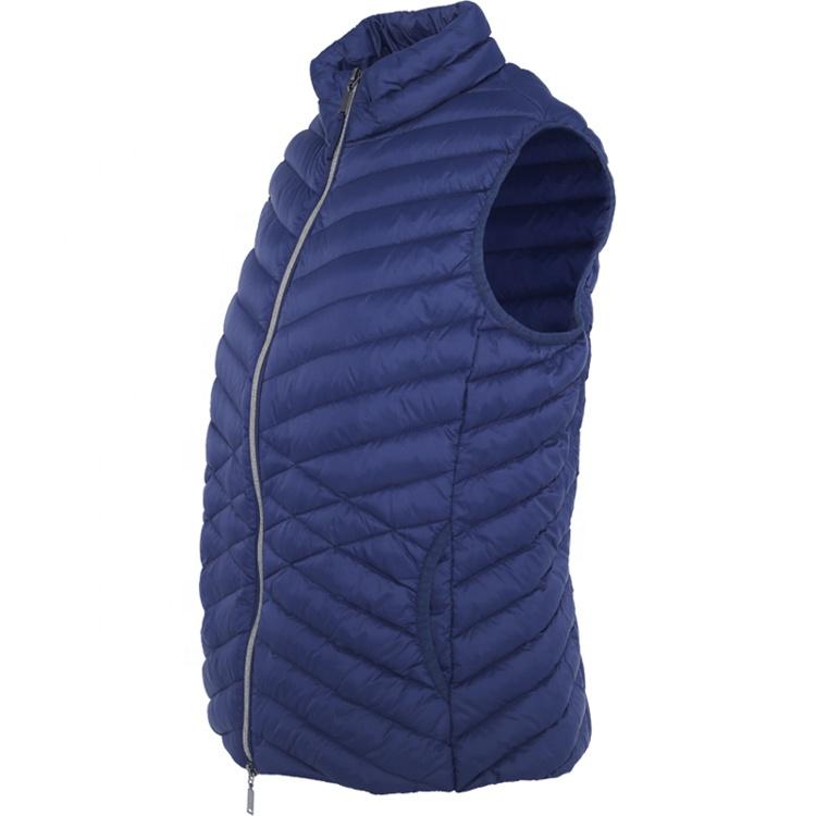 Huiquan, новый дизайн, оптовая продажа, пуховые женские жилеты, ветрозащитные пуховые Жилеты для женщин
