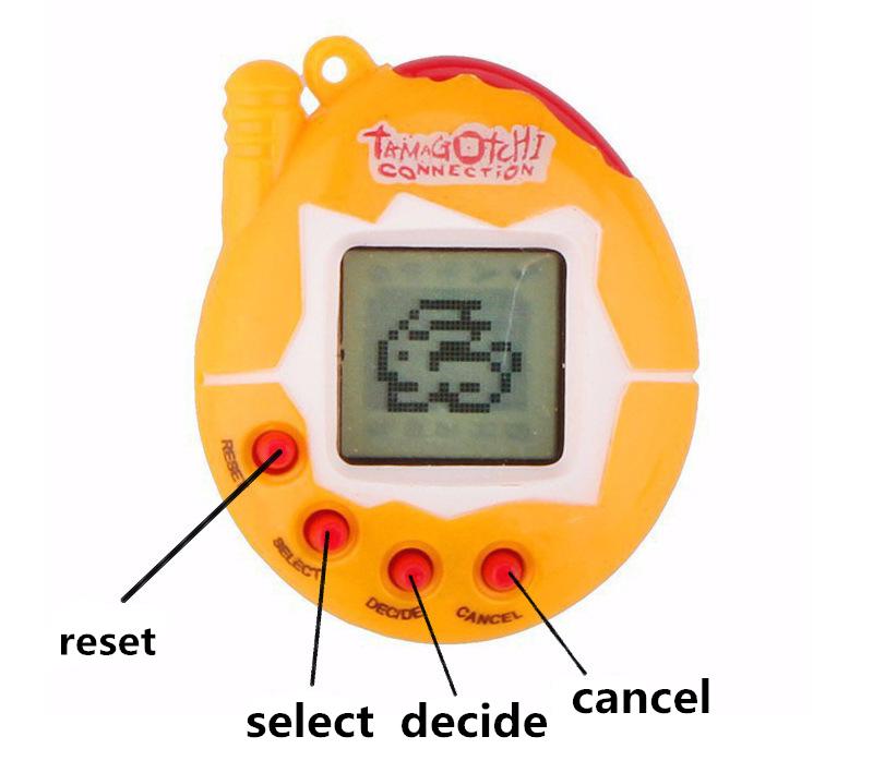 Тамагочи оригинальные электронные домашних животных игры, лучший подарок на Рождество, образовательные увлекательные 90S Ностальгический виртуальной кибернетический питомец игрушка-неваляшка