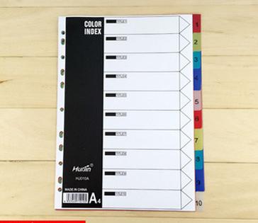 Заводская цена, разделители для индекса, Размер A4, PP, канцелярские принадлежности, файл, цвет, индексная бумага, папка для файлов, разделители для вкладышей