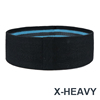 Schwarz blau X-schwere
