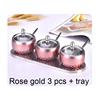Rose Gold 3 pcs