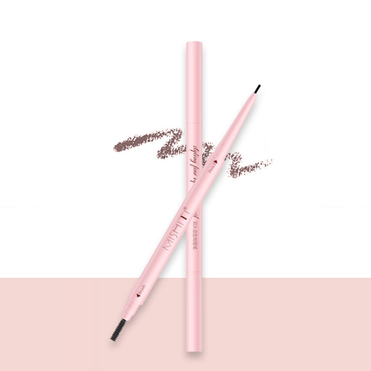 zhenhai waterproof retractable cosmetic very fine eyebrow pencil makeup double ended pink eyebrow pencil buy eyebrows pencil with logo eyebrow