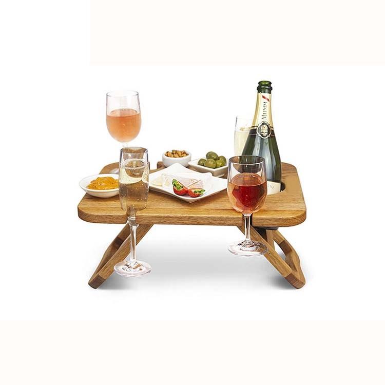 Экологичный Бамбуковый стол для компьютера, стол для завтрака, сервировка, стол для ноутбука, рабочая станция, лоток для хранения, органайзер с выдвижными ножками