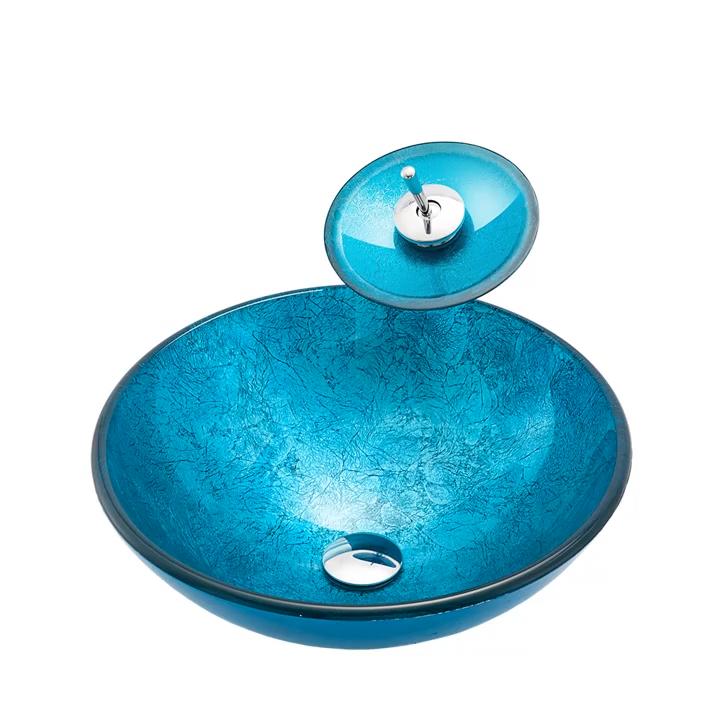 洗面器アート洗面台ユニークなバスルームシンクの下に薄いアンダーマウントラウンドモダン
