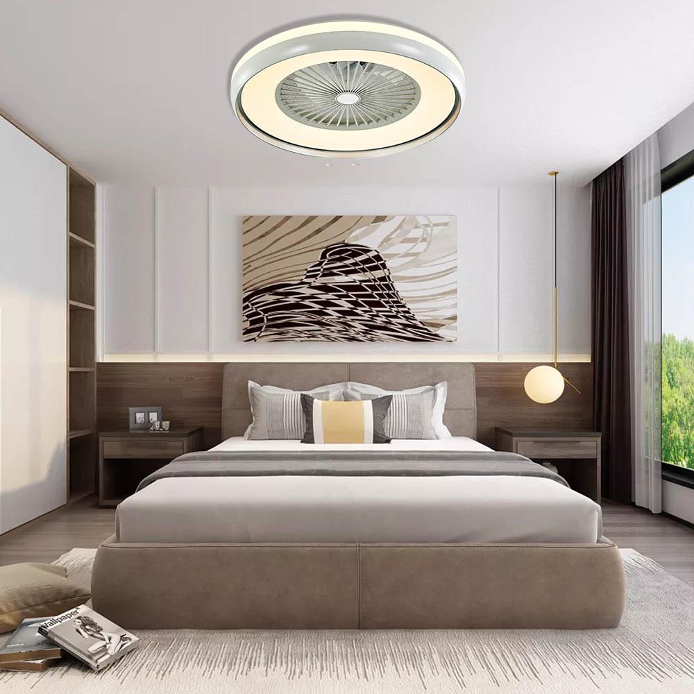 1stshine современная спальня декоративные 3 цвета светодиодные недорогие дистанционного управления потолочный светильник вентилятор