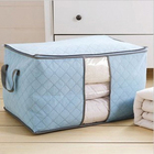 Large Clothes Storage Bag Non-woven Household Quilt Storage Bag super large cloths storage bags