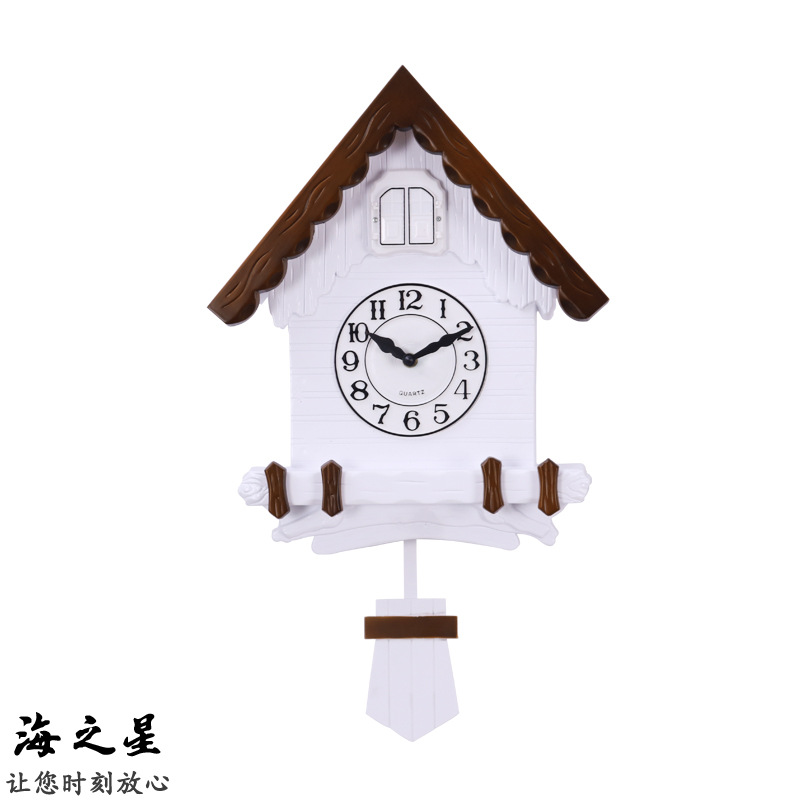 High Quality Creative Cuckoo Wall Clock In Living Room With Automatic Window Opening Buy Cuckoo Clock Wall Clocks Wall Clocks Product On Alibaba Com