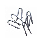 barbed u shape iron wire nail common diamond sharp u type nail
