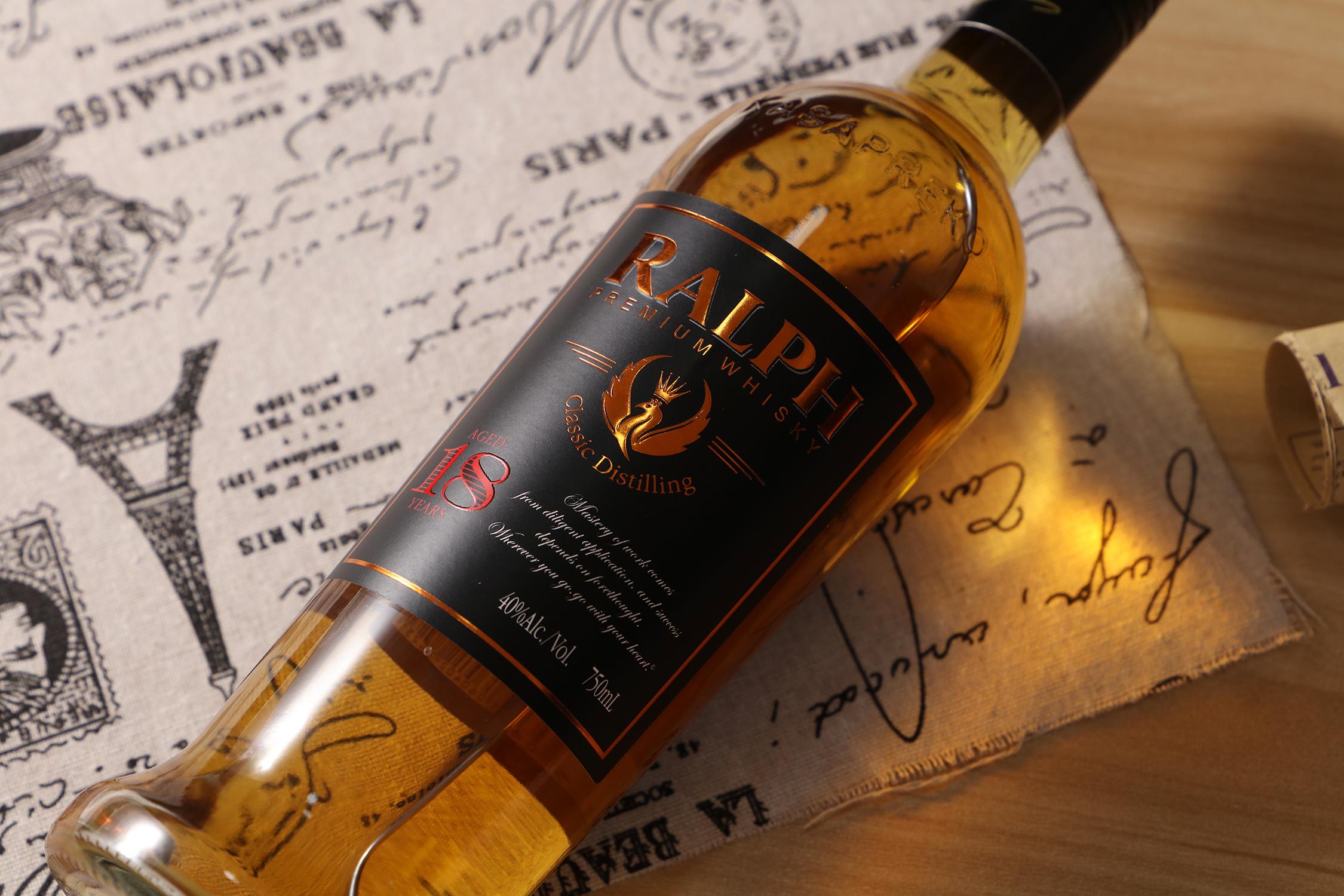 750 мл виски RALPH премиум-класса, произведенный на одной винокурне горячая Распродажа wisky