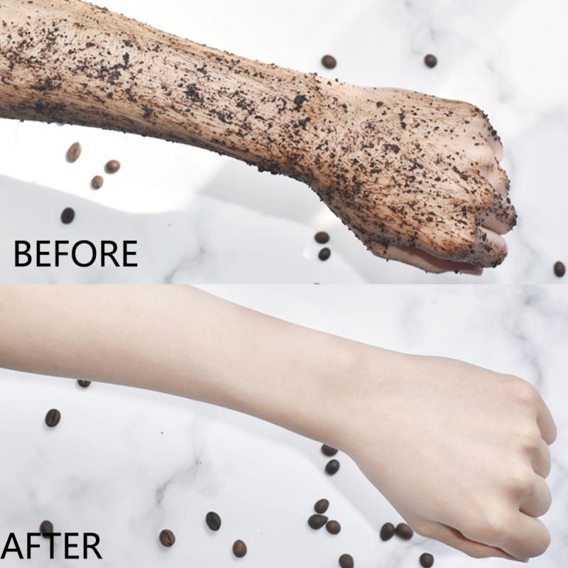 Hot Selling Deep Cleanse Natural Organic Body Skincare Coffee Body Scrub
