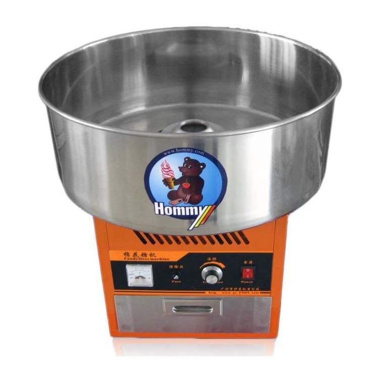 Новая Мощная портативная машина для производства хлопковых конфет, коммерческая прочная машина для производства слякоти, HM-ET-01