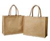 Jute tote shopping bags