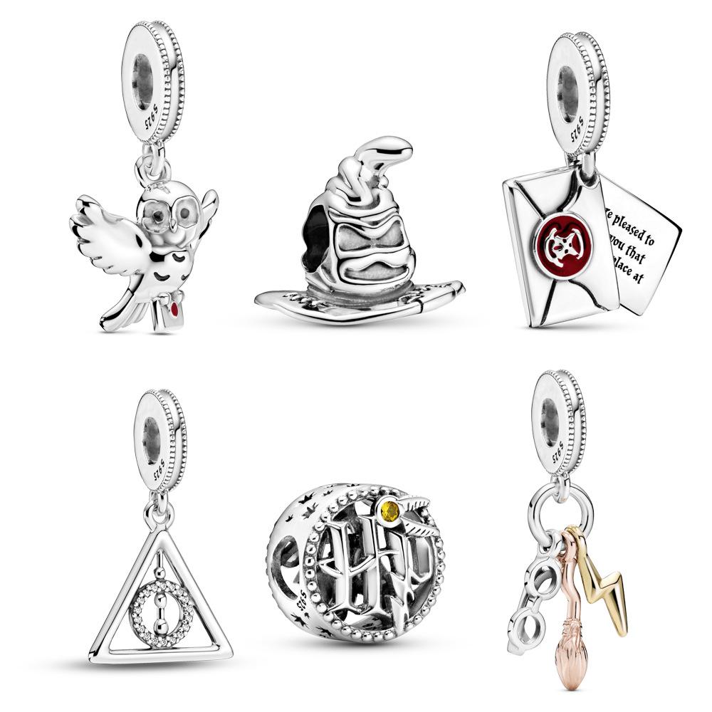 2021 New Jewelry Harry Potter Series Owl Envelope Lightning Bracelet For  Pandora Charm - Buy Pandora Charm,Bracelet For Pandora,2021 New Style  Jewelry ...