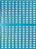 Model B-1 biru kennel lantai