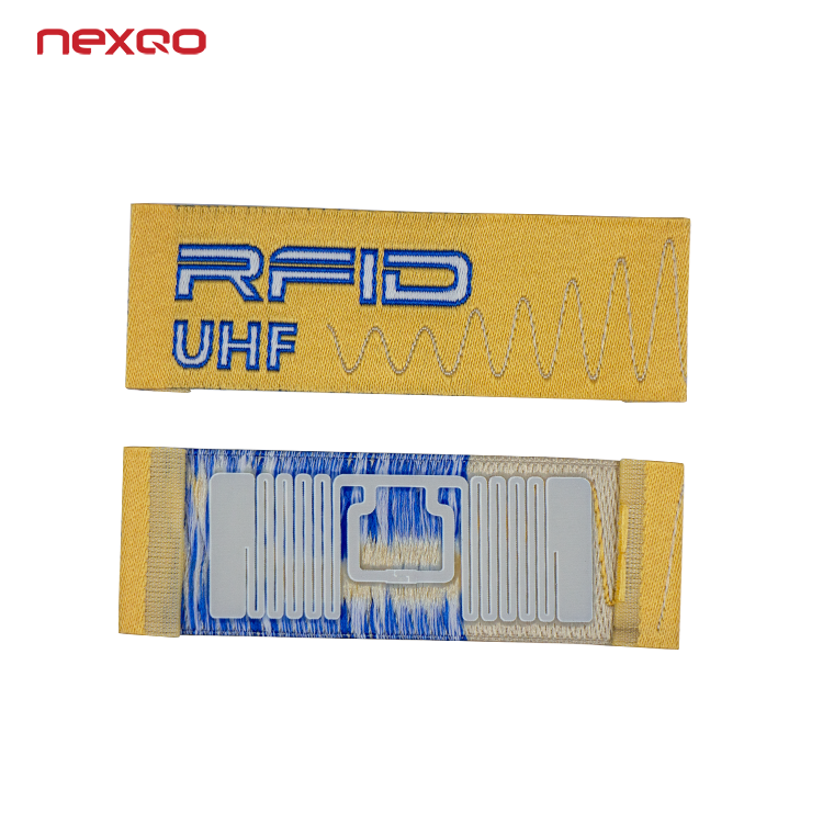 High Quality Custom Printing UHF RFID Smart Clothing Label Hang Tag for Apparel