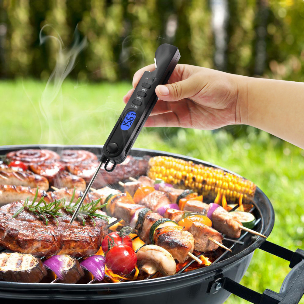 Wholesale Wireless BBQ Thermometer Kitchen Wireless Digital Instant Read Meat Thermometer
