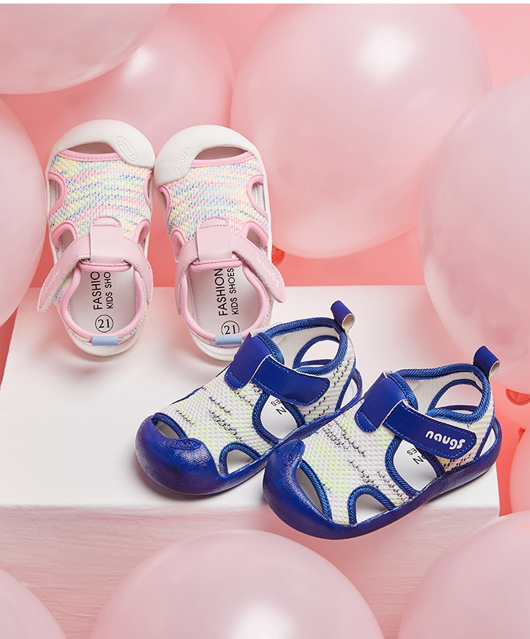Модные дышащие летние пляжные сандалии для малышей Baotou