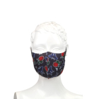 Cotton Mask Custom Logo Printed Reusable Cotton Fabric Cloth Designer Breathable Custom Cotton Face Mask