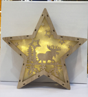 Christmas Star Christmas Battery Operated Led Light 2019 New Idea Christmas LED Battery Operated Star Shaped Table Light