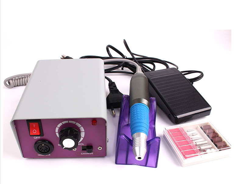 25000RPM Manicure Machine Nail Art Electric Nail Drill Equipment Pedicure Machine stainless steel for Manicure