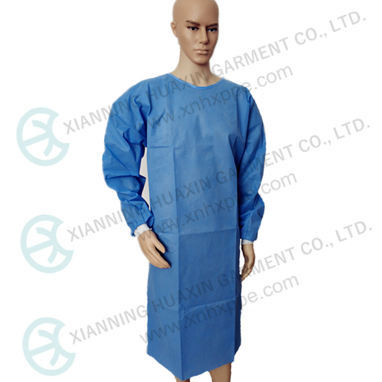 03G Disposable PPE Isolation Gown With Knit Cuff Breathable Gown In Level1/2/3 - KingCare | KingCare.net