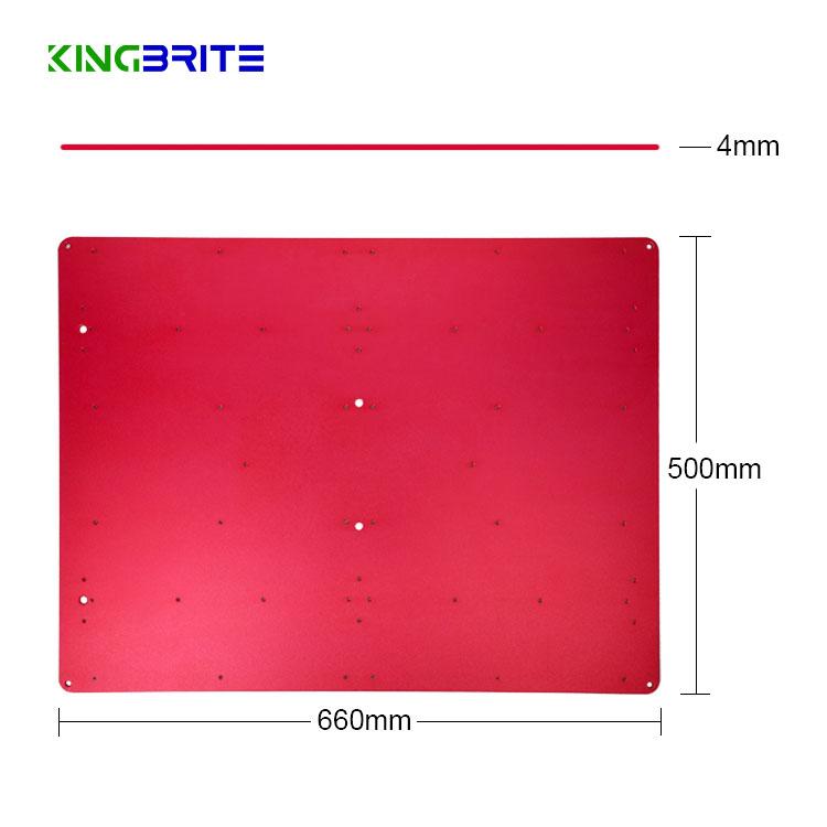 Kingbrite Red Aluminum Heatsink / radiator for 4pcs QB288 board