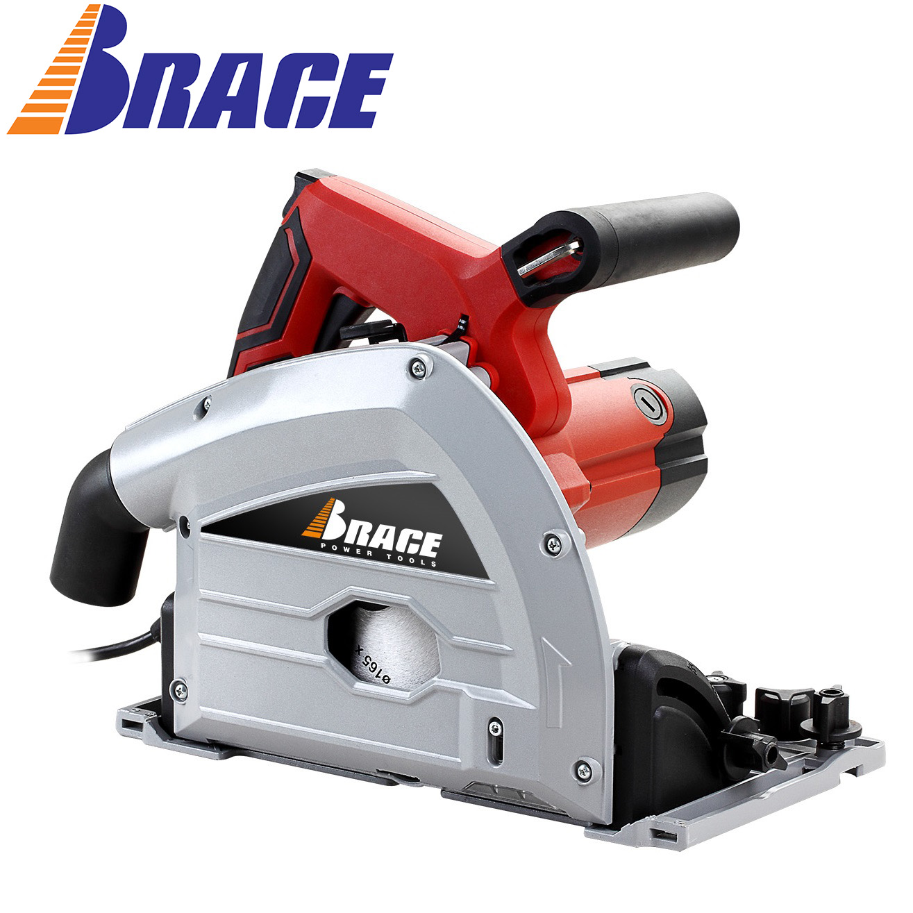 Brace/OEM 165mm Plunge cut circular track saw with guide rail