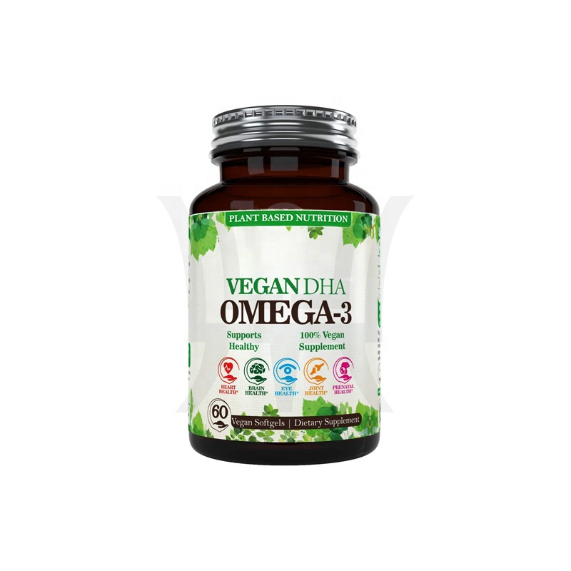 Potent Plant Based Algal DHA Derived From Marine Algae Private Label Vegan Omega 3 Better Than Fish Oil Supports Brain Heart