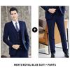 Men's Royal Blue 2-piece