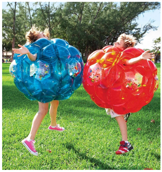 Человеческий надувной бампер для тела, Пузырьковые футбольные мячи, уличная игра, гигантский человеческий хомяк, бампер для тела, Зорб-мяч для детей