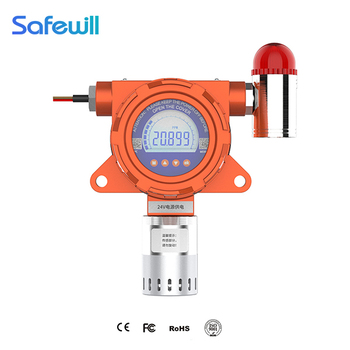 explosion-proof 4-20mA & rs 485 signal output fixed C2H5OH Ethanol gas detector 0-100%lel