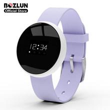 Bozlun водонепроницаемые Смарт-часы фитнес-трекер BMI калькулятор анти-потеря Смарт-часы для женщин дамы reloj inteligente B16(China)
