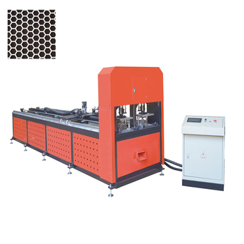 punching machine for market shelf extrusions