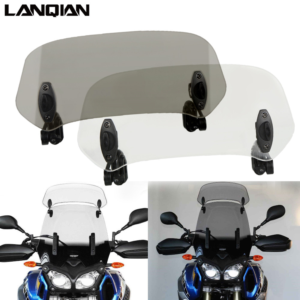 Universal Motorcycle Windscreen Windshield Wind Deflector Motorcycle Modified Windshield Front Windshield