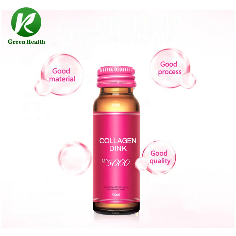OEM ODM 30ml 50ml Customize Flavor Beauty Collagen Skin Whitening Drink Collagen Drink