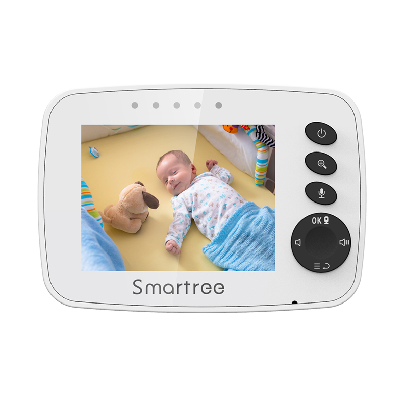 Горячая Распродажа, умный монитор для детской камеры 3,2 дюйма с ночным видением, Колыбельная игра, перезаряжаемая литий-ионная батарея Vb601 Vb603, обновленная видеоняня