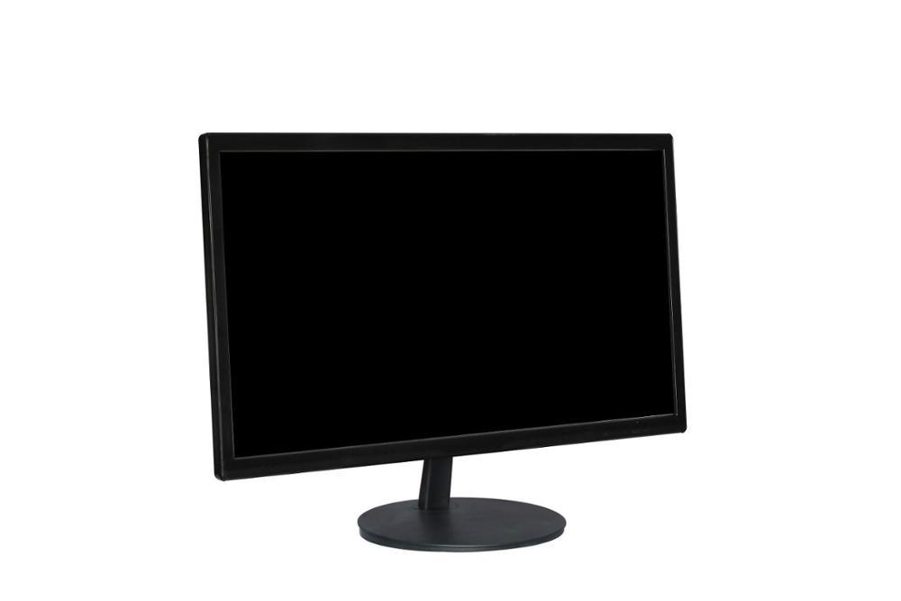 Черный цвет vesa desktop 1920*1080 16:9 24 дюйма Широкий размерный ЖК LED TV pc монитор компьютера