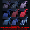 100% silk tie ready to ship