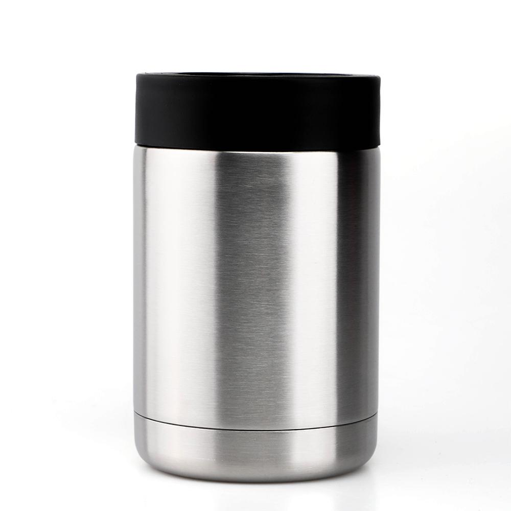 12 унций специпльные Производственные может охладитель держатель с двойными стенками Вакуумный термос из нержавеющей стали с изоляцией охладитель для банок