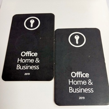 wholesale various language Microsoft office 2019 Home and Business licensed software key card