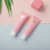 Promotional Empty Soft Laminated Makeup Cosmetic Push up Tubes Flat Container Packaging