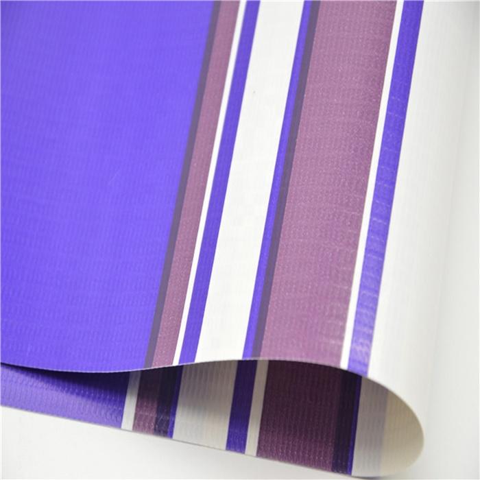 Unisign водонепроницаемые брезенты из ПВХ, огнестойкий брезент из ПВХ в полоску, уличный тент из ткани брезента